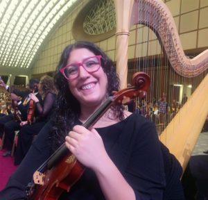 Cristina Aquiletti - violino, viola